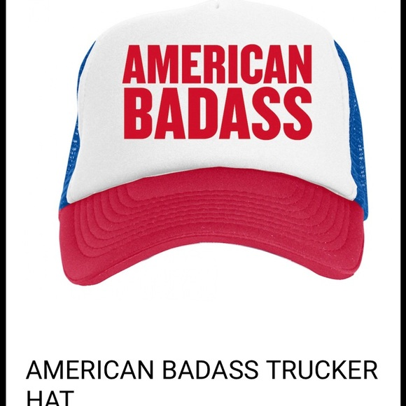 3c07f8ae9 Kid Rock American Badass unisex trucker hat cap